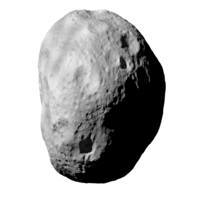 A generated asteroid