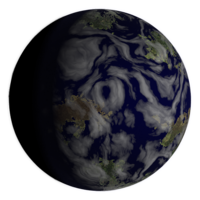 A generated planet